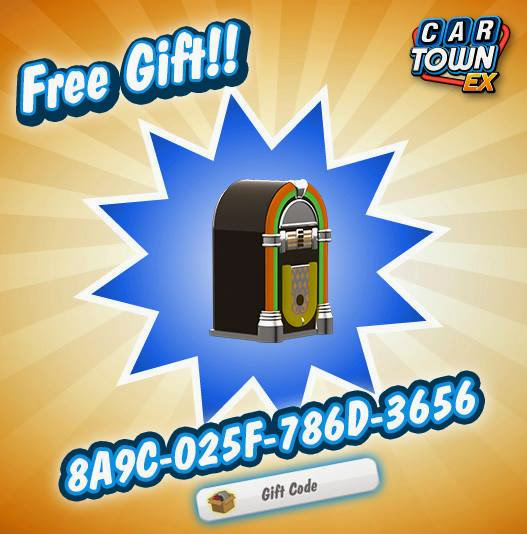 Car Town EX Free Gift Jukebox 2