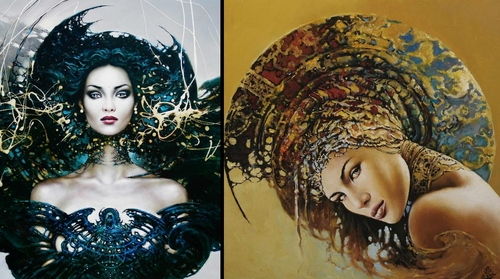 00-Karol-Bąk-Beautifully-Stylised-Portrait-Paintings-www-designstack-co