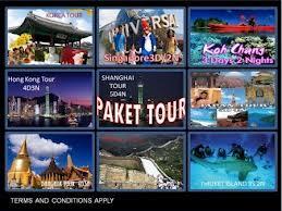 Paket Tour 2013