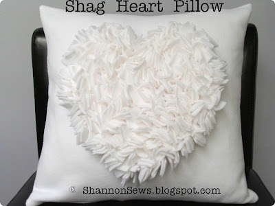 Heart, love, valentine's day pillow with textured heart design