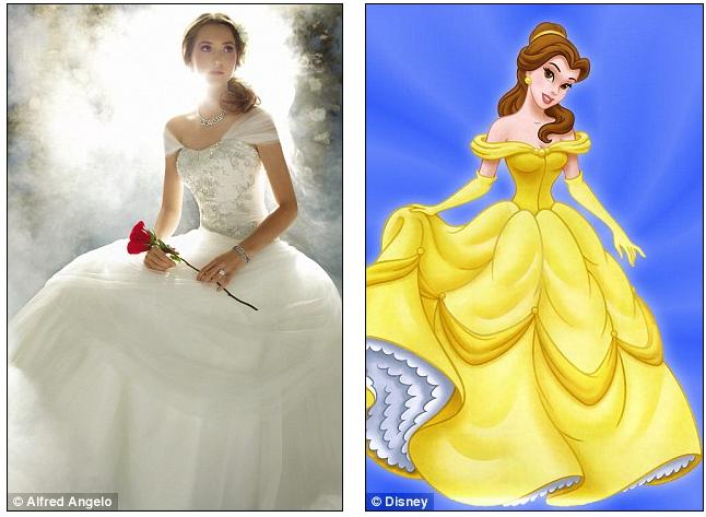 The dream becomes reality disney and bridal gown designer for Wedding dress disney collection