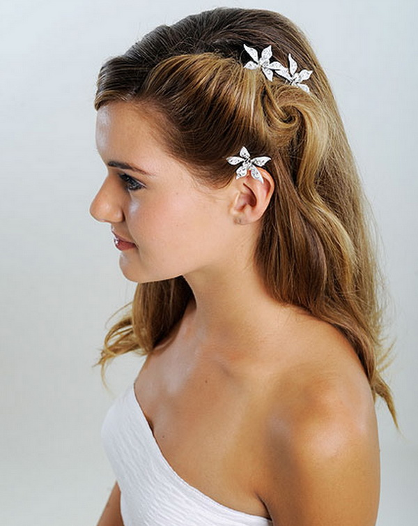 Pleasant Bridal Hairstyles 2013 02 Hairstyle Inspiration Daily Dogsangcom