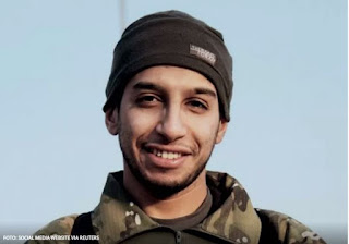 Abdelhamid Abaqaoud, foi morto na megaoperação da polícia francesa