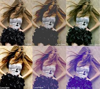 curvas para photofiltre e photoshop