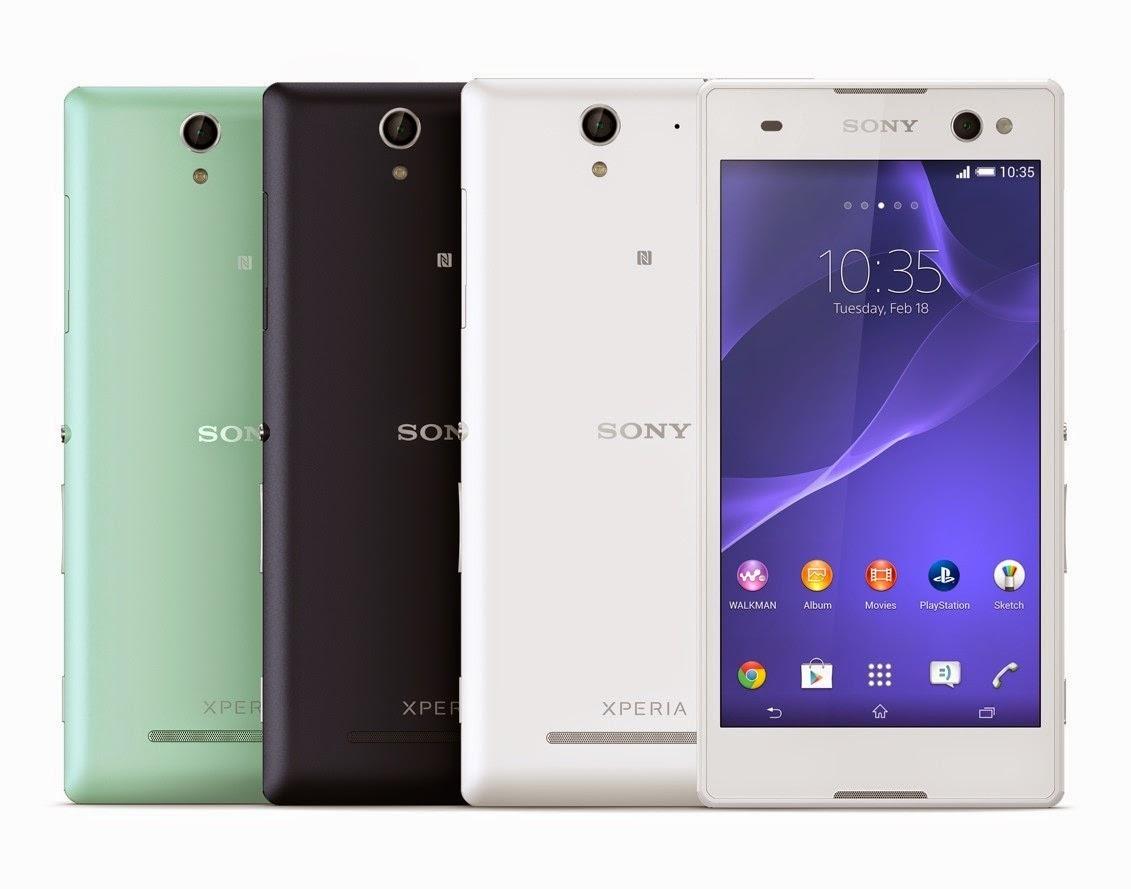 Harga Sony Xperia C3 D2533 dan Spesifikasi