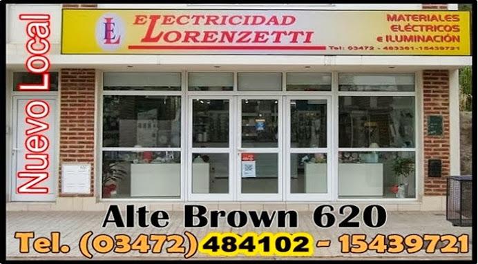 ESPACIO PUBLICITARIO: ELECTRICIDAD LORENZETTI