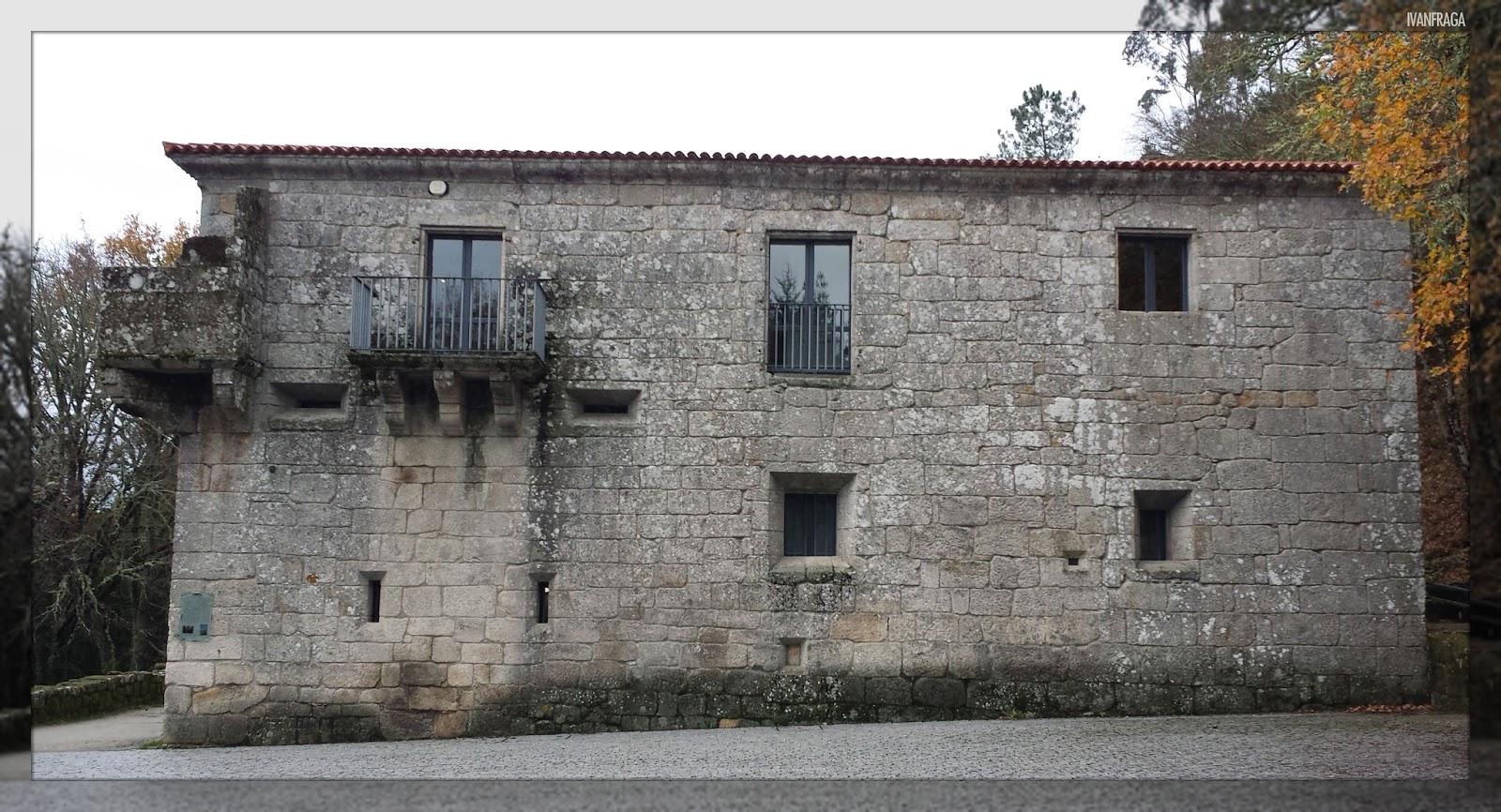 A Fraga dos Mouros: O mosteiro primixenio de San Pedro de Rocas