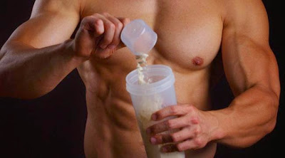 whey proteini, šejker