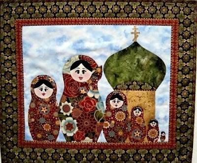 Russian Doll SWAK Pack #1 -4 Designs, 2 Sizes! | Applique