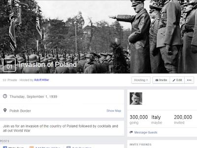 Invitation to invade Poland