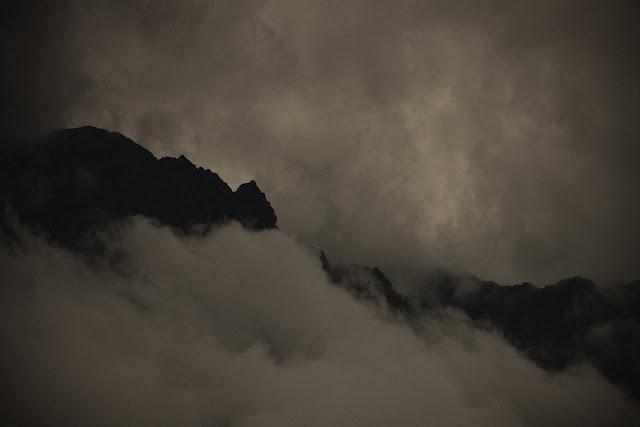 Burza w górach. Krajobraz alpejski. fot. Łukasz Cyrus, Otztal