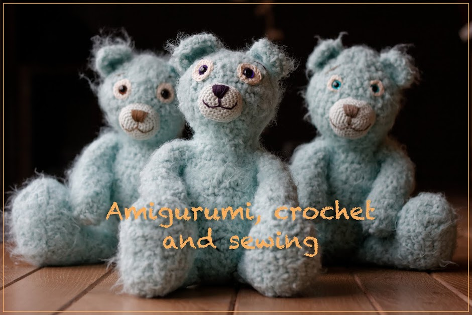 Amigurumi, crochet and sewing
