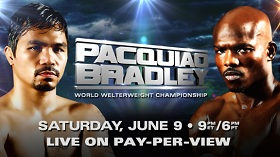 Manny Pacquiao vs Timothy Bradley World Welterweight Championship on June 9 2012