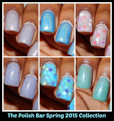 The Polish Bar Spring 2015 Collection