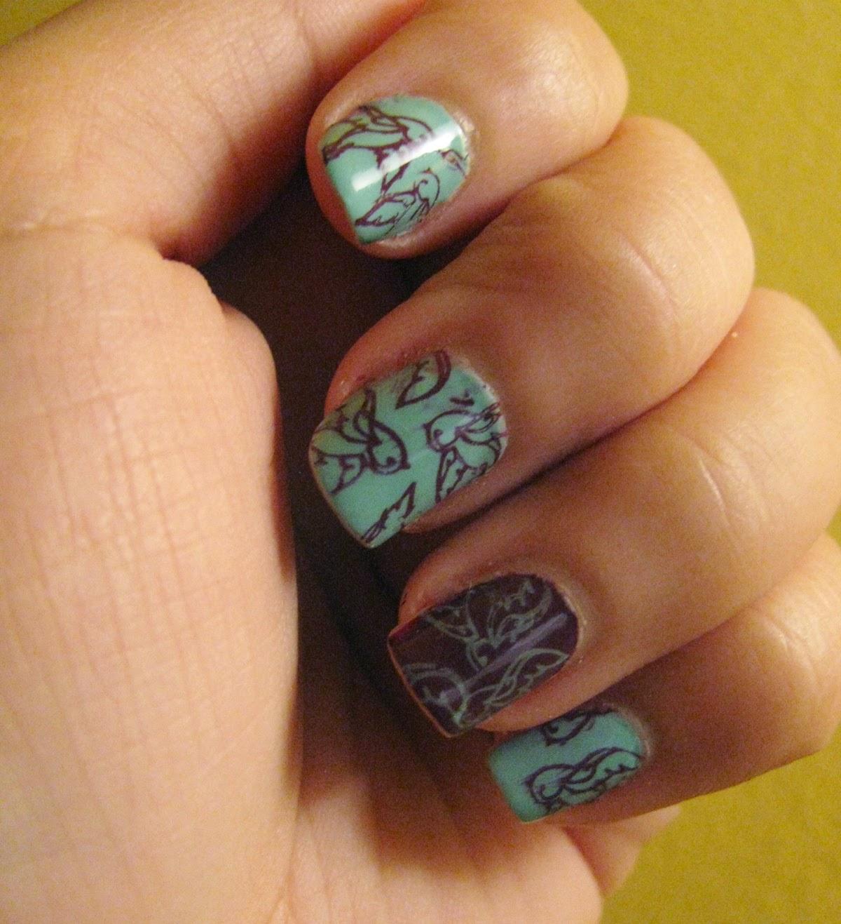 The Super Secret Nail Blog: May 2014