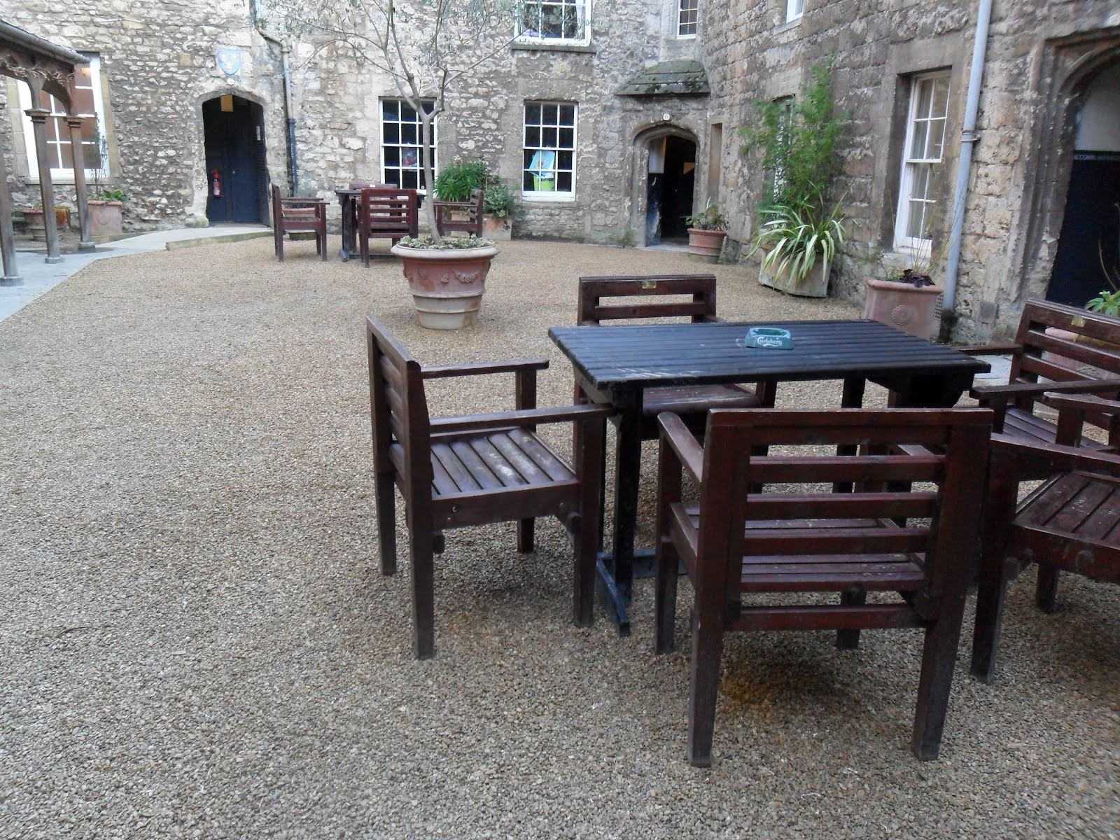 Worcester College Gardeners Drains And Shingle