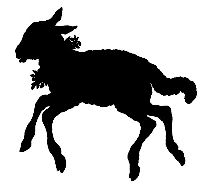Vector Images Stock Lamb Silhouette  