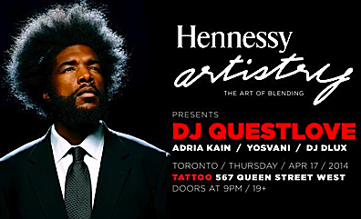 DJ Questlove @ Tattoo, Thursday