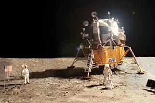 Apollo lunar lander