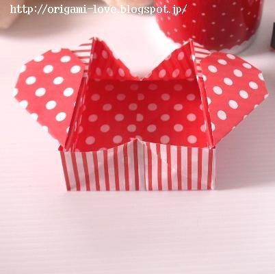 Kawaii*折り紙*チュートリアル♪ ... : 折り紙 箱の折り方 長方形 : 折り方