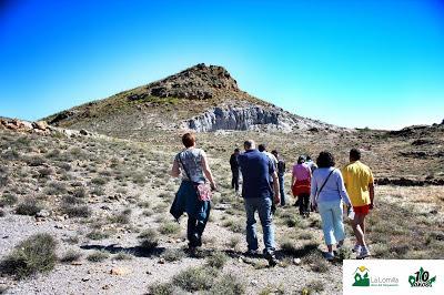 asentamiento íbero de el cardal, en Ferreira, Marquesado del Zenete, visita Camping La Lomilla con Senedtur