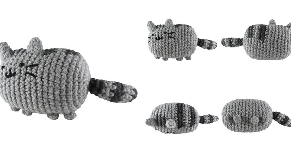 Amigurumi De Pusheen : i crochet things: Free Pattern: Pusheen the Cat Amigurumi