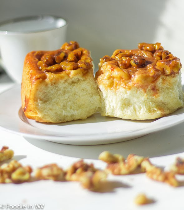 Recipe for Caramel Pecan Sticky Buns