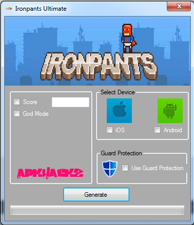 ironpants hack