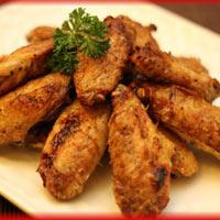 Cánh gà nướng muối tiêu thơm phức