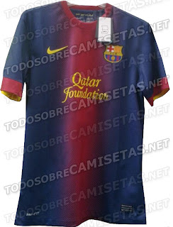 Barcelona new home kits 2013