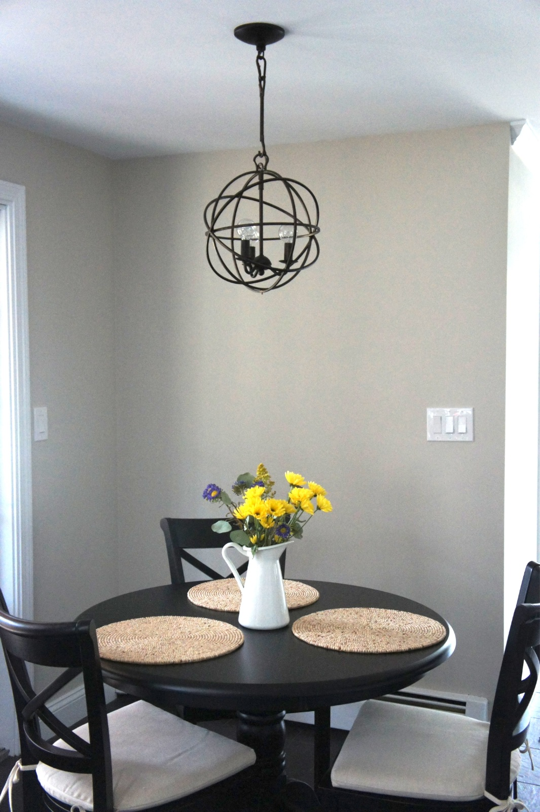 Orb Chandelier - Home With Baxter: Orb Chandelier