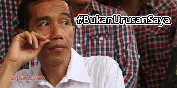 Kecam Jokowi, #BukanUrusanSaya Jadi Trending Topic
