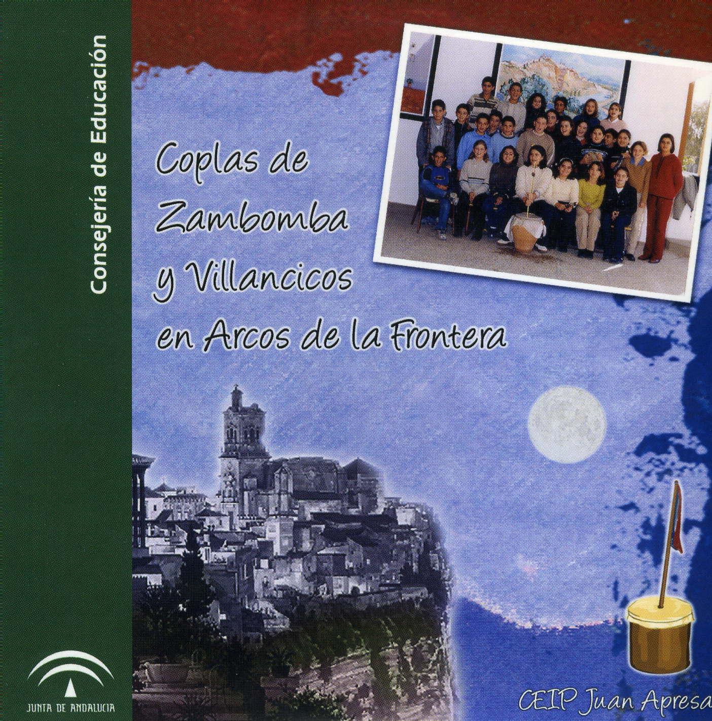 """CD-ROM """"Coplas de zambomba y villancicos en Arcos de la Frontera"""""""