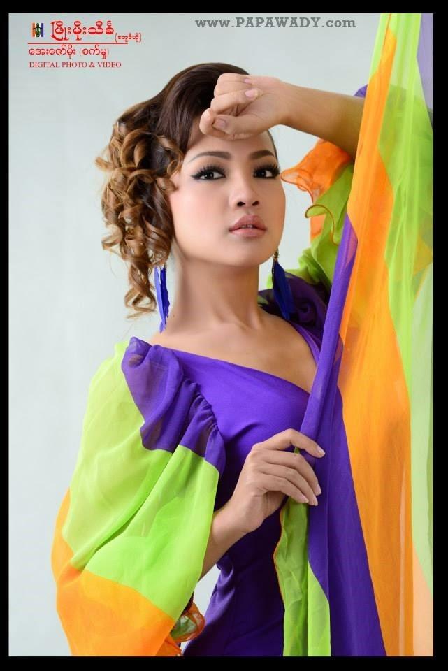 Nang Khin Zayar - Beautiful Studio Photoshoot
