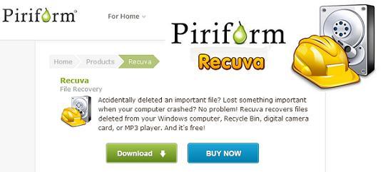 Recuva - Files Recovery Tool