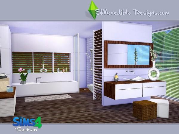 My sims 4 blog simcredible 39 s tacitum bathroom set for Bathroom ideas sims 4