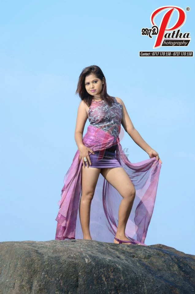 Tharu Arabewaththa micro mini skirt