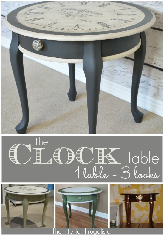 Old World Clock Face Table With An Identity Crisis The
