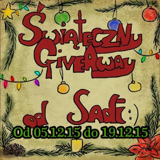 świąteczny GiveAway! od sadi