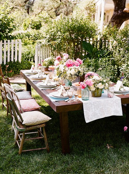 Stunning Outdoor Wedding Table Settings and Ceremony Ideas u00bb Weddings of Desire
