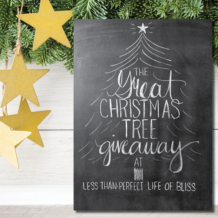 The Great Christmas Tree Giveaway! (a $1000 value!) | Less Than ...
