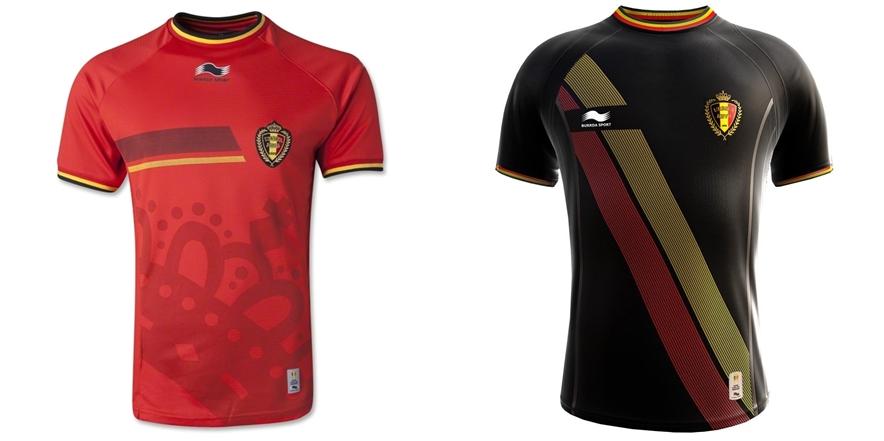 Belgia - Jersey Grade Ori Piala Dunia 2014