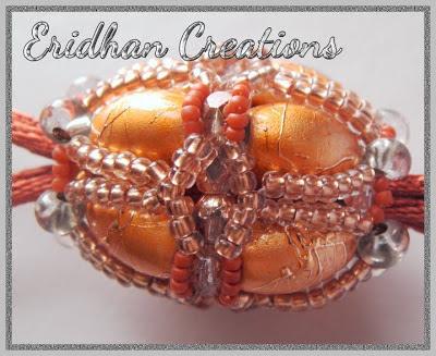 beaded core bead