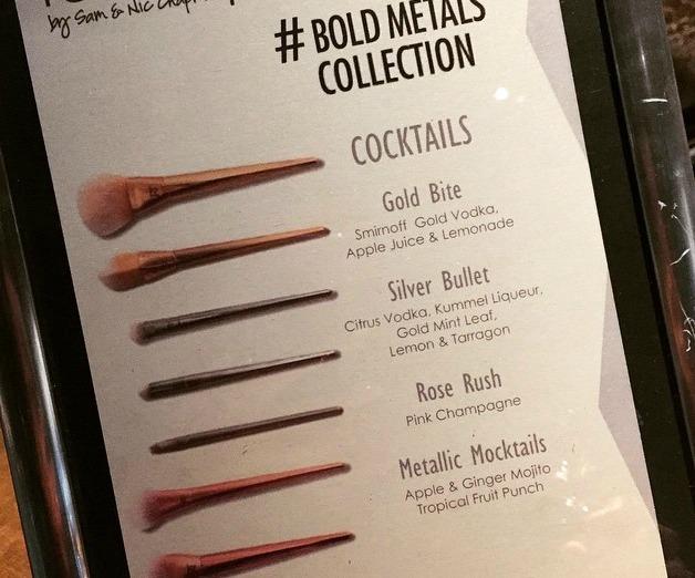 Bold Metal Cocktails
