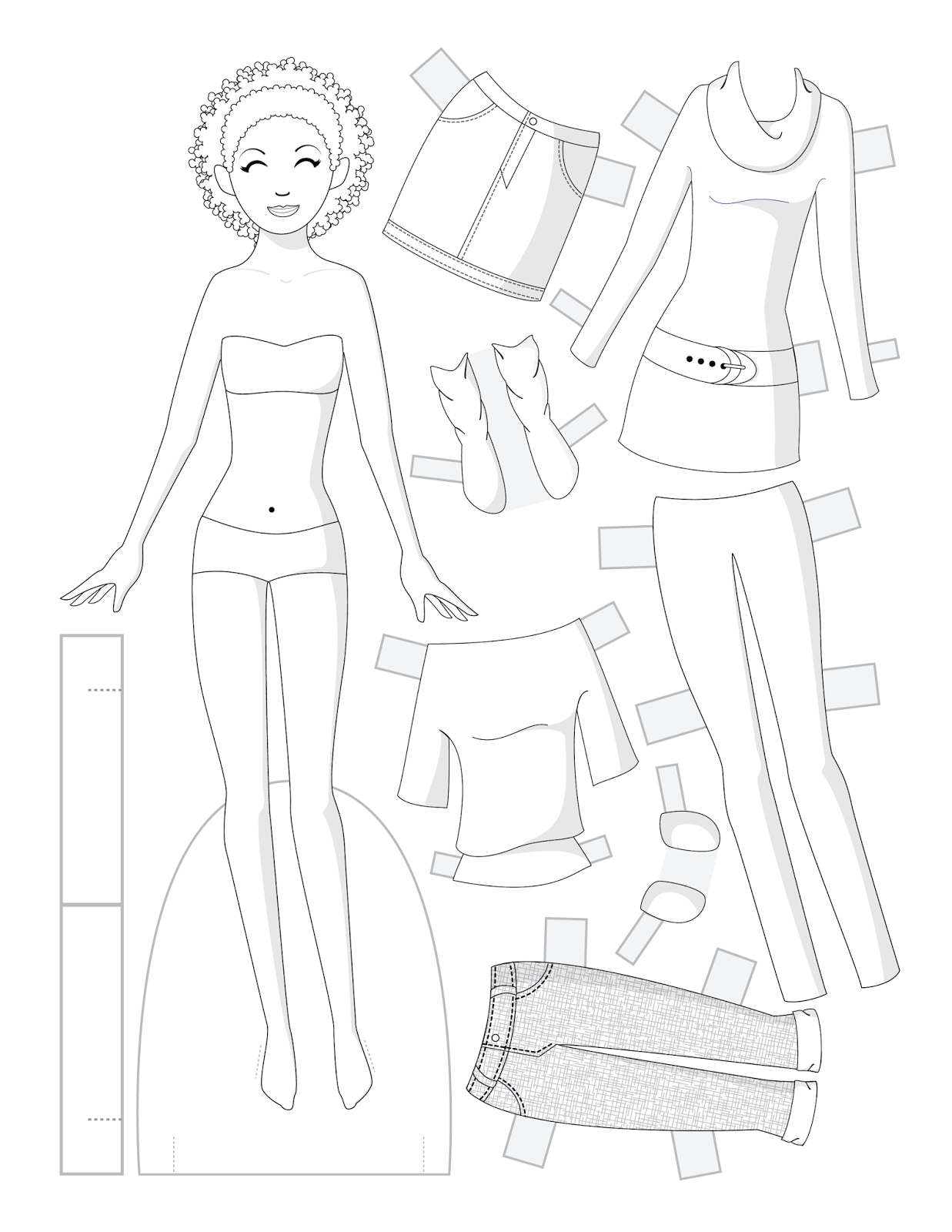 paper doll march 2014