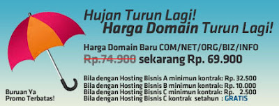 promo domain dan hosting murah