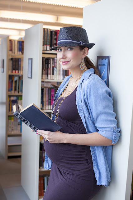 Travel and Fashion Blogger Amy West features fall maternity look on Amy West Travel the Blog