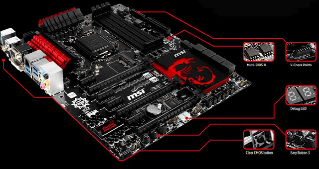 MSI Z87-GD65 GAMING Motherboard
