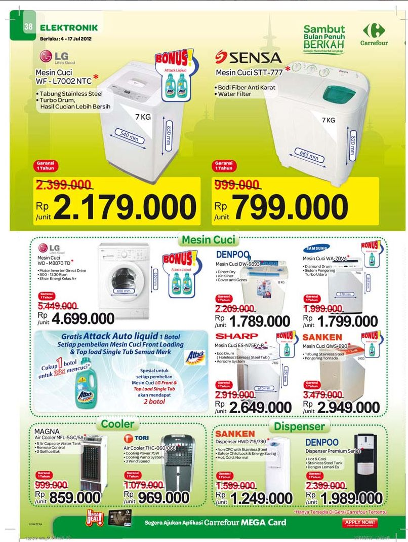 electronic carrefour july 2012