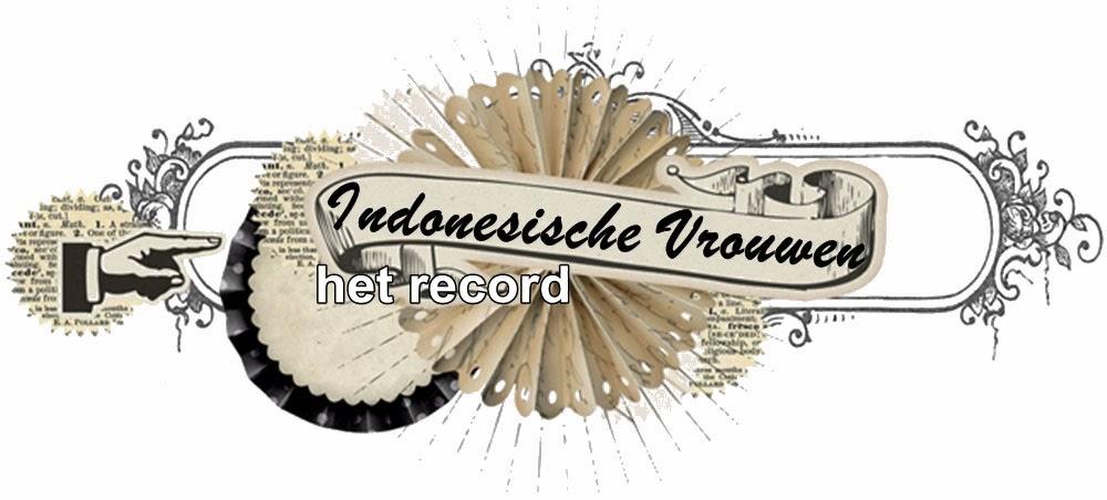 Indonesische Vrouwen Het Record